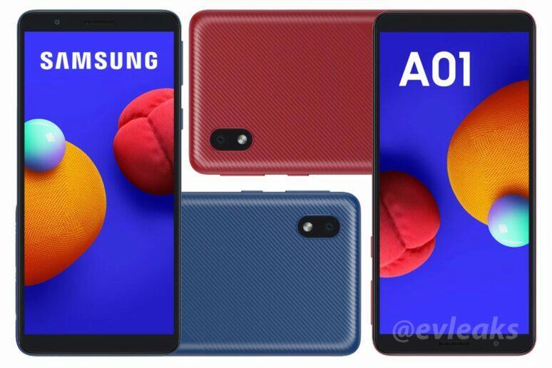 Samsung Galaxy A01 fotoaparát