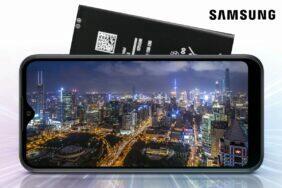 Samsung Galaxy A01e vyměnitelná baterie