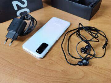 Samsung Galaxy S20 balení 5