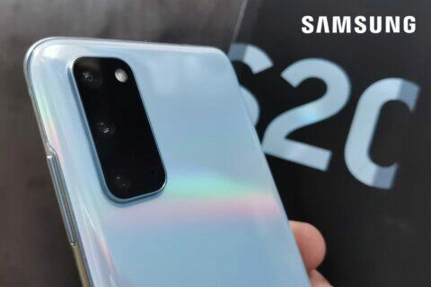 Samsung Galaxy S20 recenze