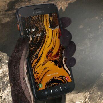 tipy na kompaktní telefony červen 2020 Samsung Galaxy Xcover 4S odolnost
