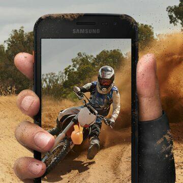 Samsung Galaxy Xcover 4S prach