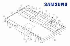 Samsung patentovaný rolovací displej