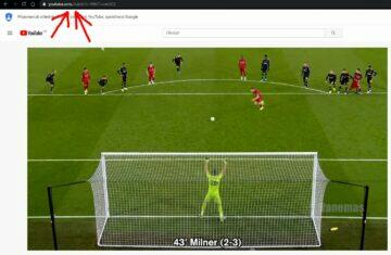 speciální znak blokuje YouTube reklamy ukazka
