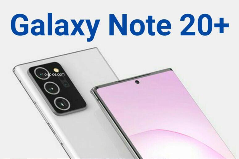 specifikace fotoaparátu samsung galaxy note 20 plus