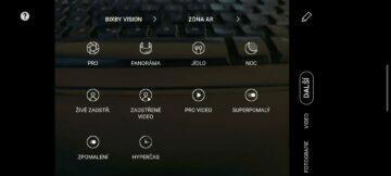 system One UI 2.1 funkce fotoaparatu