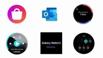 hodinky Galaxy Watch 3 funkce