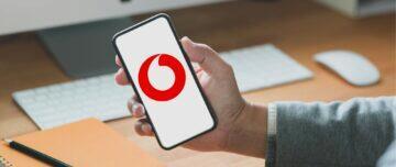 telefon v ruce Vodafone
