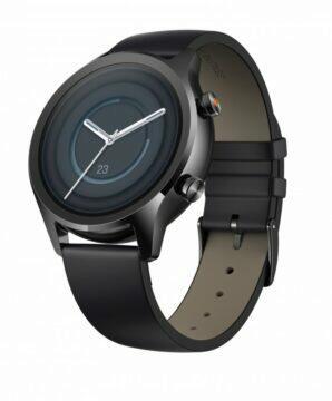 nově představené hodinky TicWatch C2+ Onyx Black