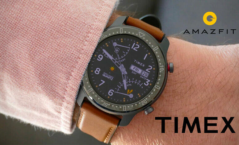 timex amazfit spolupráce