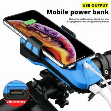 Trlife multifunkční pomocník na kolo nabíjení telefonu
