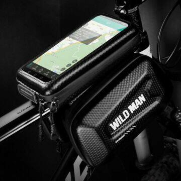 Voděodolný držák mobilu na kolo WILD MAN 2