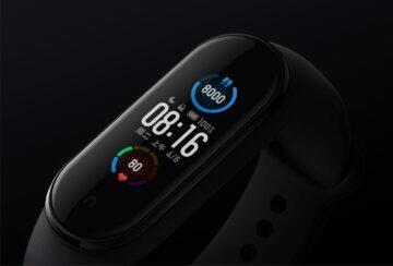Xiaomi Mi Band 5 displej