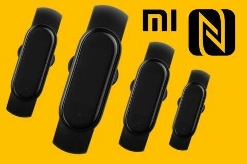 Xiaomi Mi Band 5 informace o NFC