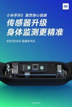 Xiaomi Xiaomi Mi Band 5 konektor 1Mi Band 5 konektor 1