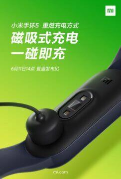 Xiaomi Mi Band 5 konektor 2