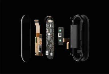Xiaomi Mi Band 5 soucastky