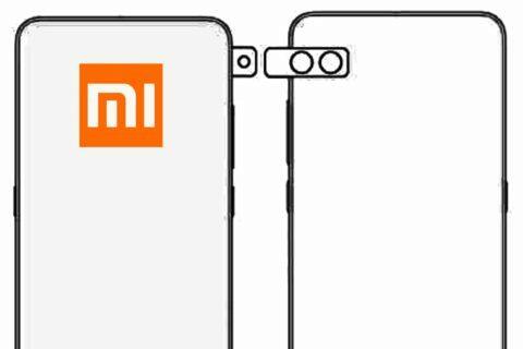 Xiaomi mobil s otočnou kamerou