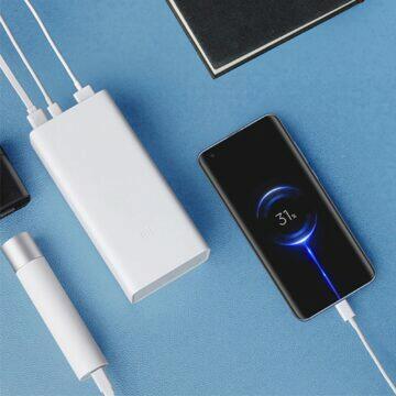 Xiaomi powerbanka s kapacitou 30000 mAh zapojení