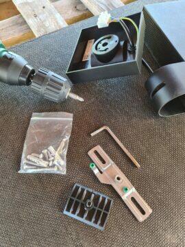 11 venkovní kamera Netatmo instalace