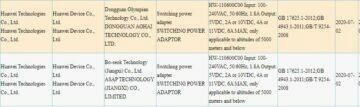66W nabíjení Huawei certifikát