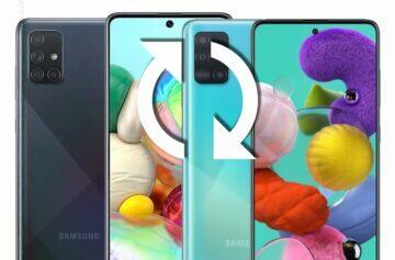 Samsung tříleté updaty seznam zařízení aktualizace Galaxy A51 a A71