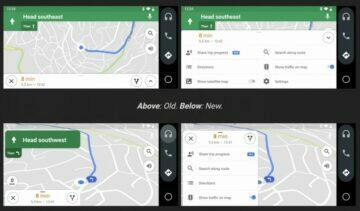 Android Auto pro telefony dostává další aktualizaci