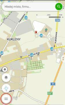 aplikace mapy cz