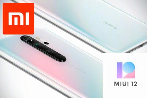 beta MIUI 12 Redmi Note 8