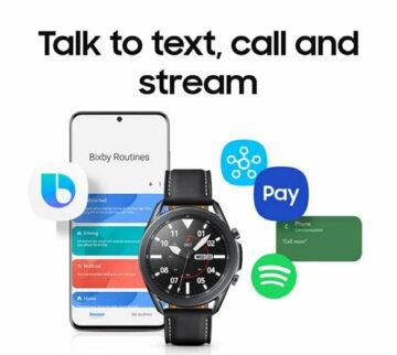 bixby asistent samsung hodinky