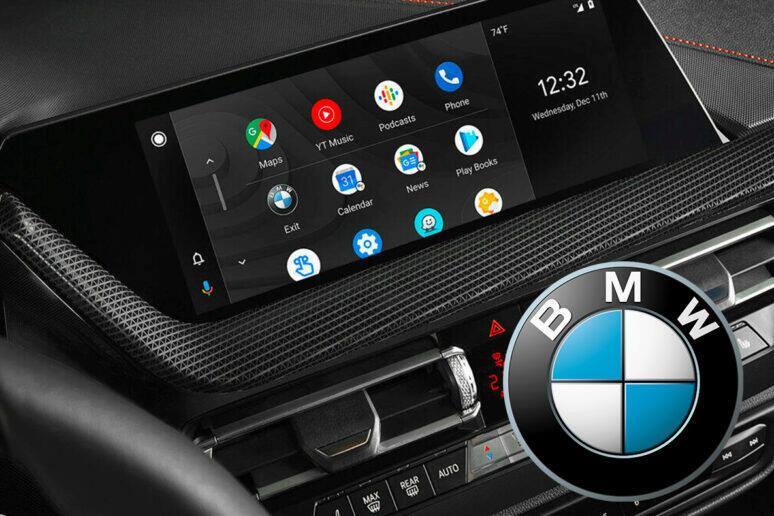 bmw bezdrátové android auto