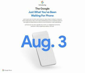 datum představení Google Pixel 4a