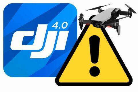 DJI GO 4 bezpečnostní riziko