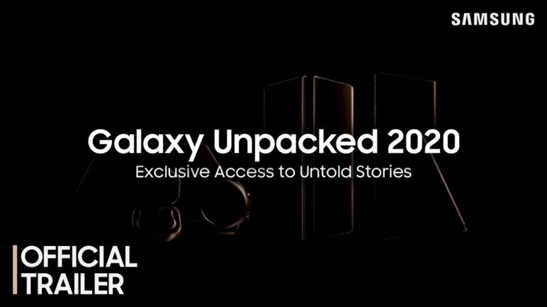 Galaxy Unpacked August 2020: Official Trailer #1│Samsung