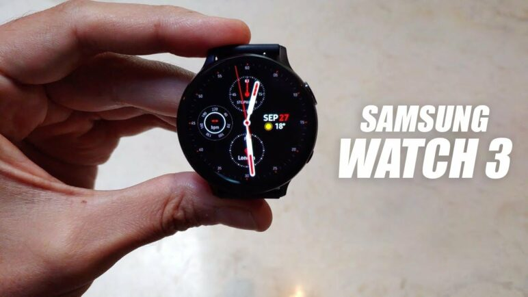 Galaxy Watch 3 - HANDS ON VIDEO (EXCLUSIVE)