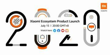 global product introduction Xiaomi 2020 invitation