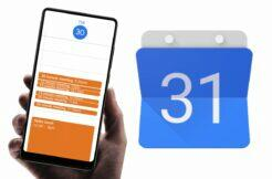 Google Kalendář krátké události