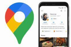 Google Mapy sledování