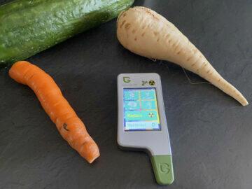greentest eco 5 měření zeleniny