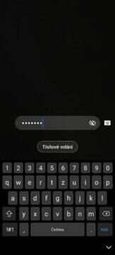 heslo odemykání