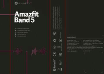 Huami Amazfit Band 5 krabička