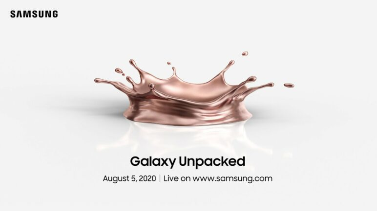 [Invitation] Samsung Galaxy Unpacked 2020
