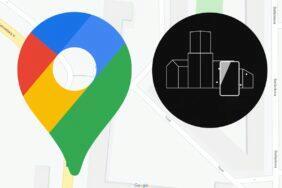 Live View Google Mapy určování polohy