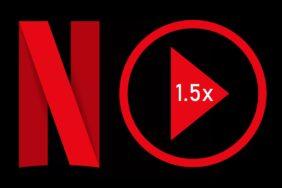 Netflix rychlost přehrávání