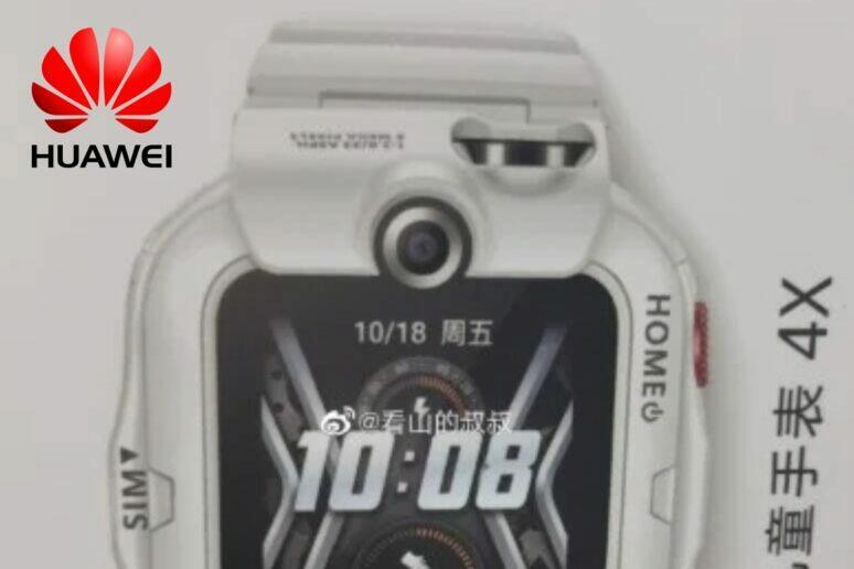 Nové hodinky Huawei Children's Watch 4X
