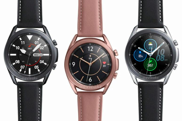 nové informace galaxy watch 3
