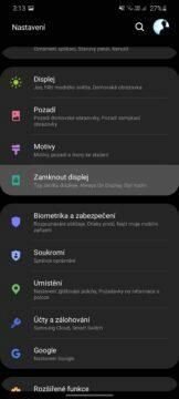 odemykání Android telefonu nastavení