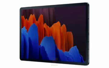 tablet samsung galaxy tab s7 predni strana