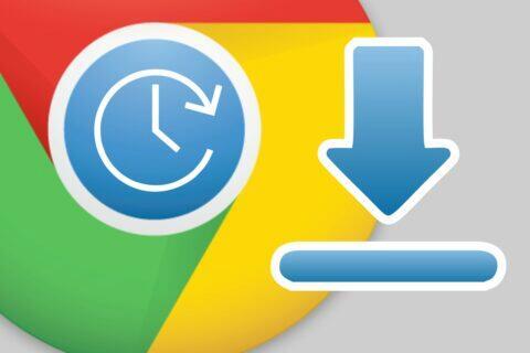plánovač stahování Google Chrome