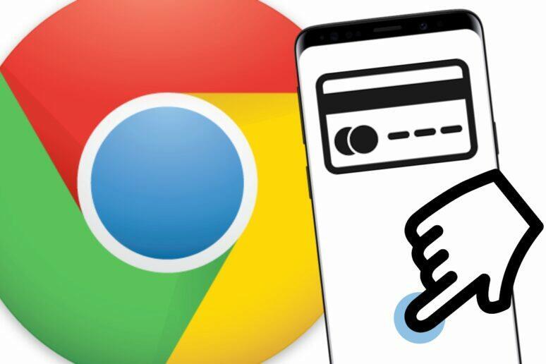 potvrzení plateb otiskem prstu Google Chrome